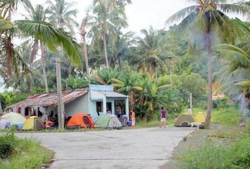 cấm trại ở đảo hải tặc